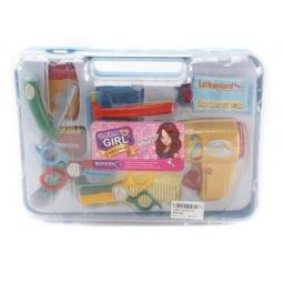 фото Игровой набор для девочки Shantou Gepai «Набор парикмахера в чемоданчике» 629112