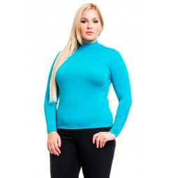 фото Водолазка Mondigo XL 264. Цвет: изумрудный. Размер одежды: 48