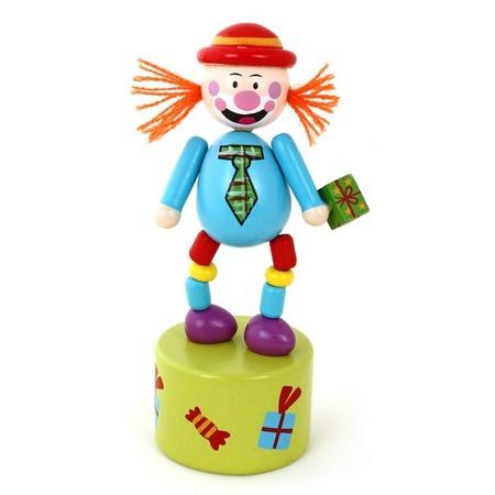 Купить Игрушка деревянная Mapacha «Танцующий клоун»