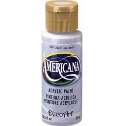 фото Краска акриловая DecoArt Премиум Americana. Цвет: нежно-сиреневый