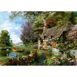 Купить Пазл 1000 элементов Trefl «Очаровательный уголок»