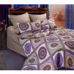 фото Комплект постельного белья Сова и Жаворонок «Бухара» 19056/2. 1,5-спальный