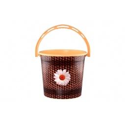 Купить Ведро круглое Violet 0110БК «Плетенка»