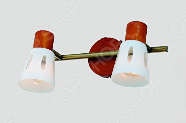 Светильник настенный Rivoli Argo 2xE14-40W - оригинальная и красивая модель светильника, которая добавит уюта и комфорта в ваш интерьер. Такой светильник может быть как основным, так и дополнительным источником света. Его мягкий свет великолепно подойдет для спальни или гостиной, создавая расслабленную и спокойную атмосферу. Модель выполнена из высококачественных и надежных материалов, что позволяет значительно продлить срок эксплуатации изделия.
