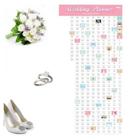 Купить Календарь-планинг для свадьбы Doiy Wedding planner
