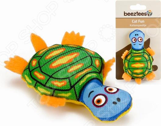 Игрушка для кошек Beeztees «Черепашка» 440559 игрушка головоломка для кошек beeztees найди лакомство диаметр 22 см