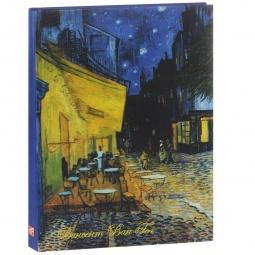 фото Винсент Ван Гог. Ночная терраса кафе. Блокнот (коричневая бумага)