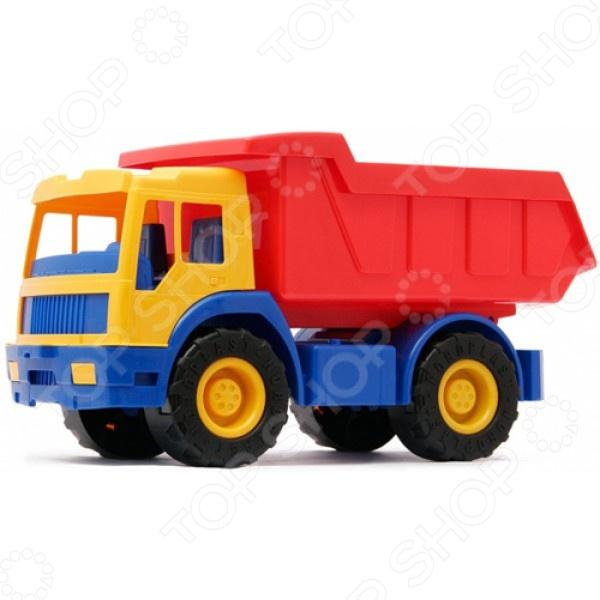 Грузовик Нордпласт «Зубр» 06149 набор для игры в песочнице dolu грузовик с просторным кузовом