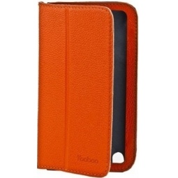 фото Чехол для Samsung Galaxy Note 2 N7100 Yoobao Executive Leather Case. Цвет: оранжевый