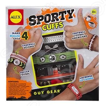 Набор для создания браслетов Alex «Сделай сам. Звезды спорта» alex alex набор для творчества сделай сам браслеты фенечки бро