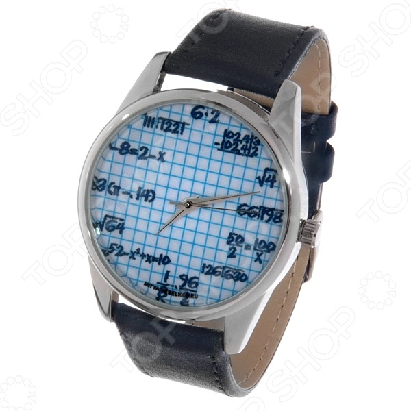 Часы наручные Mitya Veselkov «Формулы на клетке» дизайнерские часы mitya veselkov формулы на белом mv 63