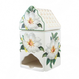 Купить Банка для чайных пакетиков Elan Gallery «Белый шиповник»