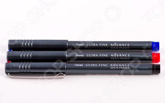 Ручка капиллярная Pentel Ultra Fine