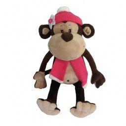 фото Мягкая игрушка Maxitoys «Обезьянка Виолетта»