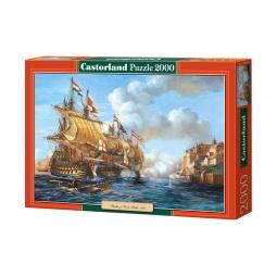 Купить Пазл 2000 элементов Castorland «Битва в Порто Белло»