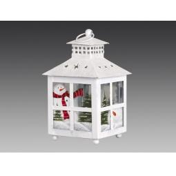 фото Фонарь рождественский Holiday Classics средний «Старинные окна» 1709355