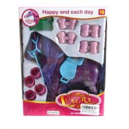 фото Набор игровой для девочки Shantou Gepai «Любимая лошадка». Цвет: фиолетовый