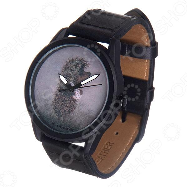 Часы наручные Mitya Veselkov «Ежик с котомкой» MVBlack часы ежик с котомкой mitya veselkov часы механические