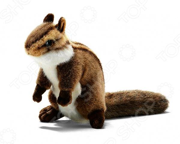 Мягкая игрушка для ребенка Hansa «Бурундук сидящий» dragons фигурка toothless сидящий