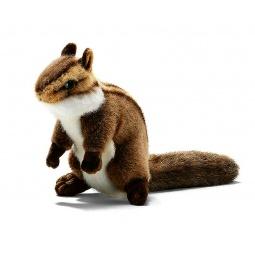 фото Мягкая игрушка для ребенка Hansa «Бурундук сидящий»