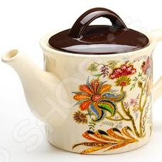 Чайник заварочный Loraine LR-24859 чайник заварочный loraine lr 23768 0 7л белый с рисунком ромашки
