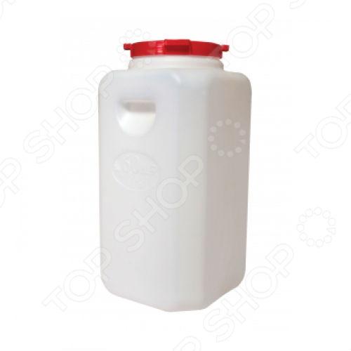 Канистра бочка Альтернатива - удобное и незаменимое приспособление на вашем дачном участке или у вас дома. Канистра-бочка выполнена из высококачественного пищевого пластика, поэтому подходит даже для хранения сыпучих или жидких продуктов. Так, в ней можно надежно сохранить большой запас круп или зерна, или набрать питьевую воду. Герметичная бочка с плотно закрывающейся крышкой не даст вредителям и негативному воздействию окружающей среды навредить содержимому. Канистра имеет устойчивую квадратную форму.