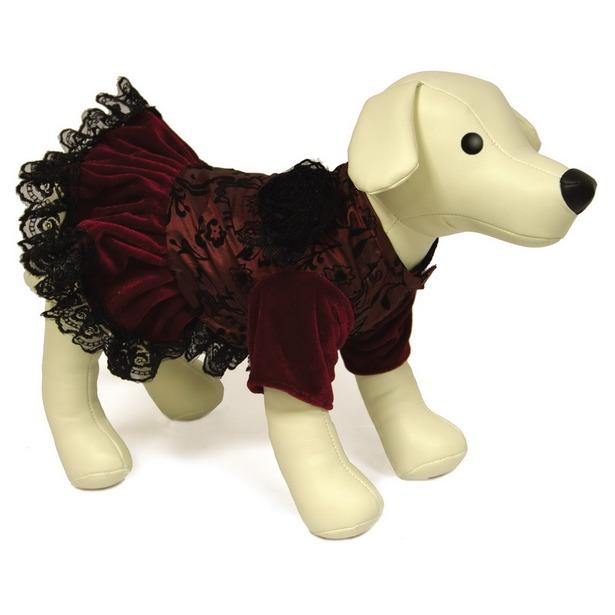 фото Платье для собак DEZZIE «Рейси». Размер: 30 см