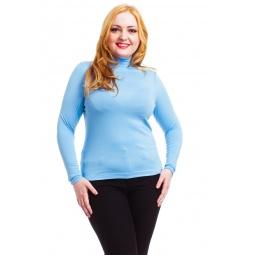фото Водолазка Mondigo XL 036. Цвет: голубой. Размер одежды: 48