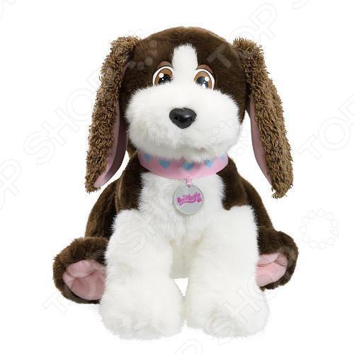 фото Игрушка интерактивная мягкая Vivid Обнимашки-щенок, Мягкие интерактивные игрушки