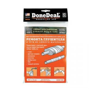 Купить Высокотемпературный бандаж для ремонта глушителя Done Deal DD 6789