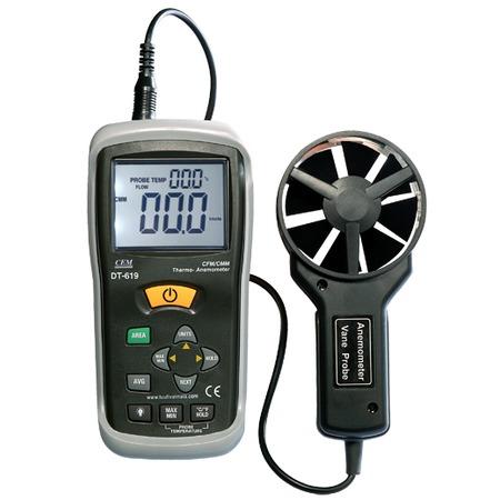 Купить Термоанемометр СЕМ DT-619