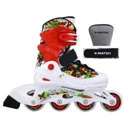 фото Роликовые коньки детские раздвижные X-MATCH Butterfly. Размер: 38/41