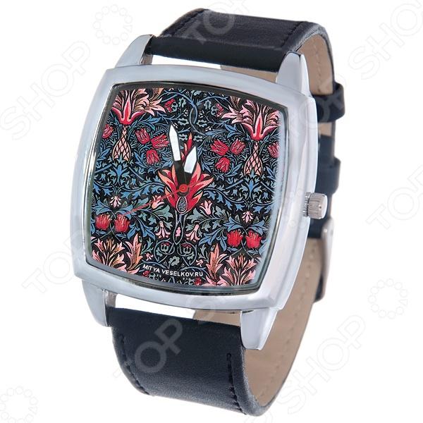 Часы наручные Mitya Veselkov «Тюльпановый принт»
