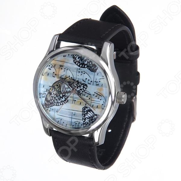Часы наручные Mitya Veselkov «Бабочки и ноты»