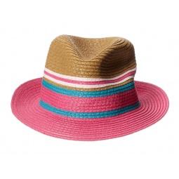 Купить Шляпа детская для девочки Appaman Audrey Fedora. Цвет: бежевый, розовый