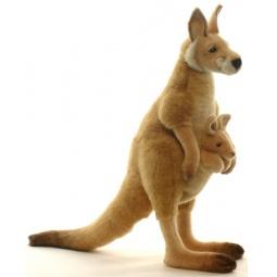 фото Мягкая игрушка Hansa «Большой рыжий кенгуру»