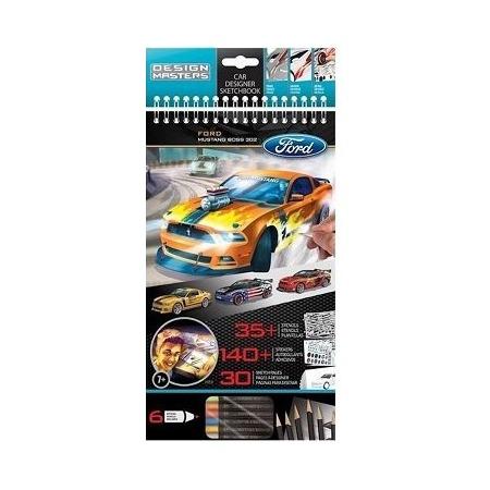 Купить Набор с эскизами и трафаретами Desing Masters Ford Mustang