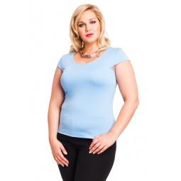 фото Футболка Mondigo XL 7001. Цвет: голубой. Размер одежды: 48