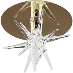 Купить Светильник декоративный потолочный Эра DK30 GD/WH