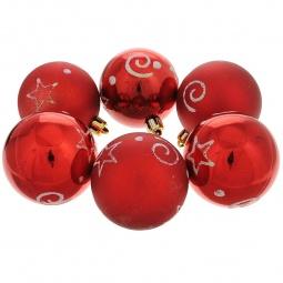 фото Набор новогодних шаров Феникс-Презент 35503