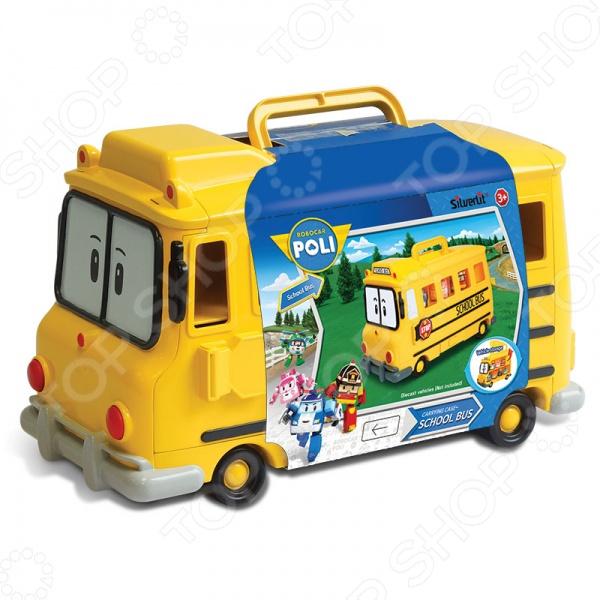 Кейс для хранения машинок Poli «Скулби» robocar poli кейс для хранения машинок скулби
