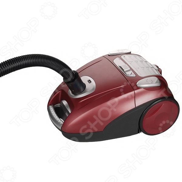 Пылесос Vitesse VS-756. В ассортиментеТрадиционные пылесосы с мешком<br>Товар продается в ассортименте. Цвет изделия при комплектации заказа зависит от наличия цветового ассортимента товара на складе. Пылесос Vitesse VS-756 обладает высокой мощностью всасывания, что позволяет добиться идеально чистых полов. Данная модель оборудована моющимся фильтром HEPA, через который проходит поглощаемый воздух, что обеспечивает его очистку на 99.95 . В комплект входит несколько насадок. Турбощетка поможет вам избавиться от волос, пуха и шерсти, а также произвести глубокую очистку ковров. С ее помощью вы сможете удалить на 25 больше грязи, чем при использовании обычной щетки.<br>
