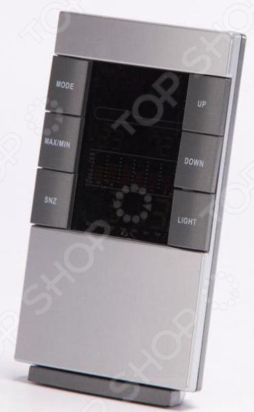Метеостанция Bradex S3326CSТермометры. Метеостанции<br>Метеостанция Bradex S3326CS компактный прибор, позволяющий быстро и точно измерять температуру и уровень влажности в помещении. Дополнительно имеется встроенный календарь и часы. Всю информацию можно просмотреть на широком цветном дисплее, а большие клавиши значительно облегчат снятие показаний и настройку прибора. Метеостанция осуществляет измерение температуры в пределах от 0 до 50 градусов, измерение влажности: 20-99 . Встроенный календарь с 2001 по 2099 год. Прибор функционирует от 2-х батареек типа ААА, не входят в комплект. Также в устройстве имеется будильник, который не даст вам опоздать на работу или важное мероприятие. Время устанавливается в двух форматах на выбор 12-часовой или 24-часовой. Память прибора позволяет сохранять рекордные показатели температуры и влажности, чтобы вы могли в любое время проследить динамику. Укомплектованная инструкция поможет быстро разобраться со всеми нюансами использования прибора. Метеостанция отличается компактными габаритами и стильным дизайном, она прекрасно впишется в любой интерьер и поможет вам создать максимально комфортные условия для проживания и работы.<br>
