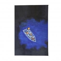 фото Обложка для паспорта Mitya Veselkov «Влюбленные в лодке»