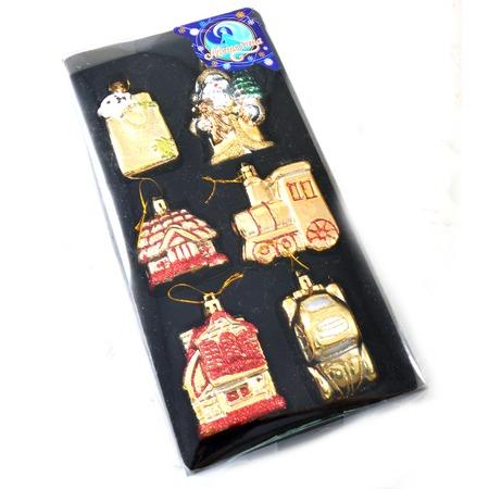 Купить Набор ёлочных украшений Метелица 5821