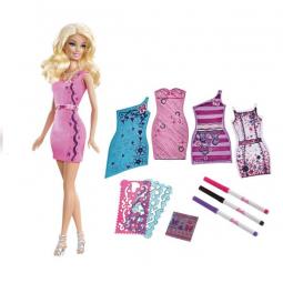 фото Набор одежды для игрушек Mattel Модная дизайн-студия. Создай свое платье