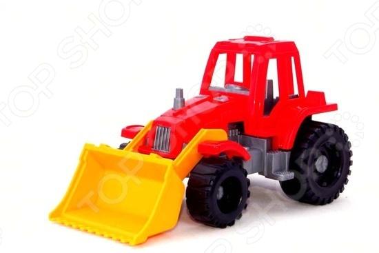 Машинка игрушечная Нордпласт «Трактор Ижора с грейдером» машинка игрушечная нордпласт трактор байкал с грейдером