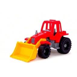 фото Машинка игрушечная Нордпласт «Трактор Ижора с грейдером». В ассортименте