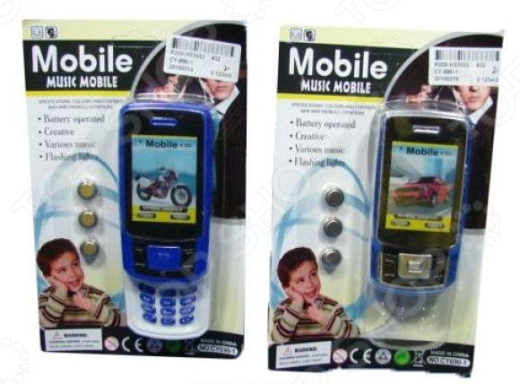 Телефон игрушечный Shantou Gepai «Слайдер мобильный». В ассортименте