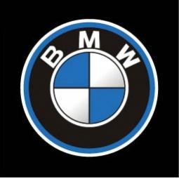 фото Светодиодные проекторы логотипа автомобиля BMW